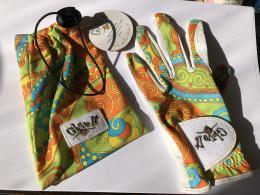 Dámská golfová rukavice LUXUSNÍ kožená ITÁLSKÁ Lady Golf - BEST Golf DÁREK - zvětšit obrázek