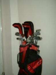 LADY GOLF DAY - Dámský golfový set 7+1 zdarma, výběr barvy bagu - firemní golf - zvětšit obrázek